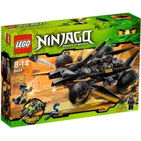 Do choi Lego Ninjago 9444 - Xe dia hinh cua Cole