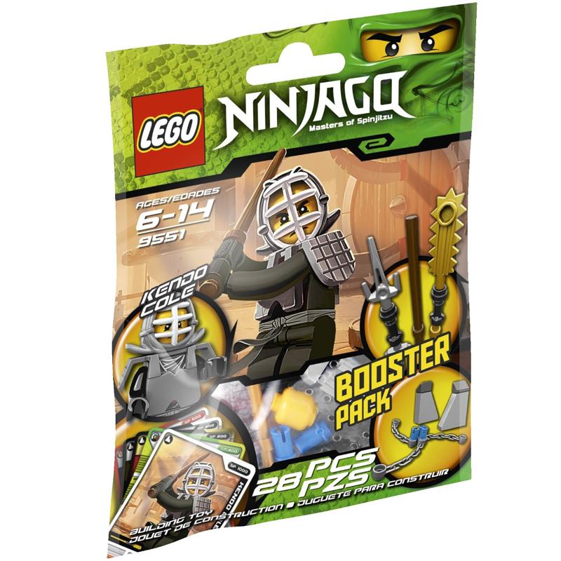 Do choi Lego Ninjago 9551 - Dung si Kendo Cole