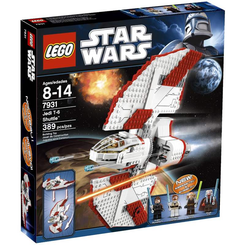 Do choi Lego Star Wars 7931 Phi thuyen T6 cua hiep si jedi