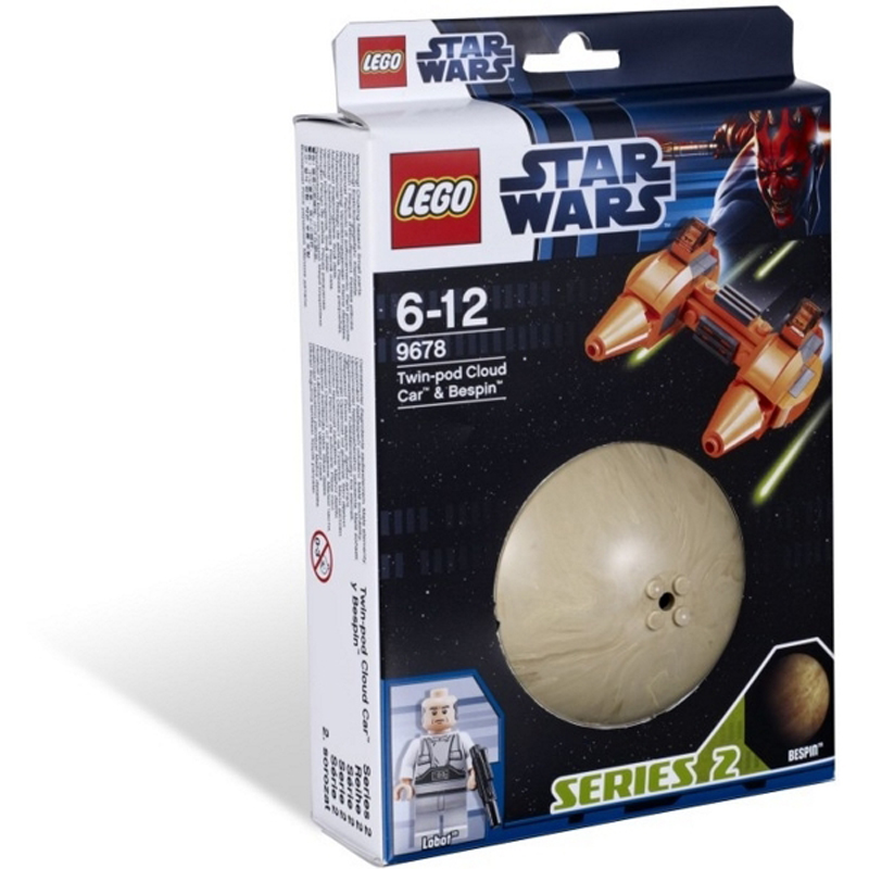 Lego Star Wars 9678 - Phi thuyen Twin-Pod