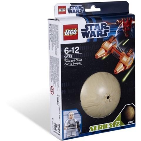 Lego Star Wars 9678 - Phi thuyen Twin-Pod