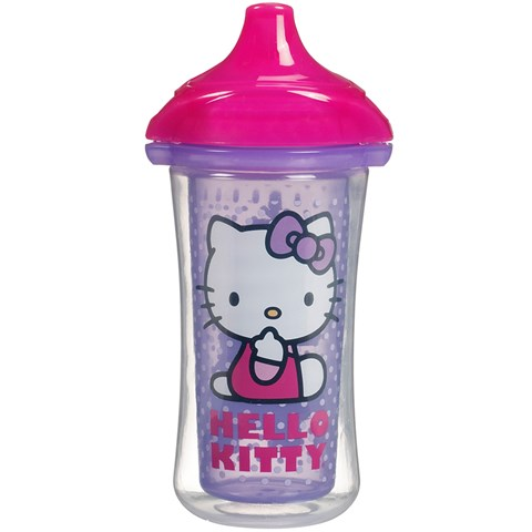 Coc tap uong giu nhiet Munchkin 15283 Hello Kitty