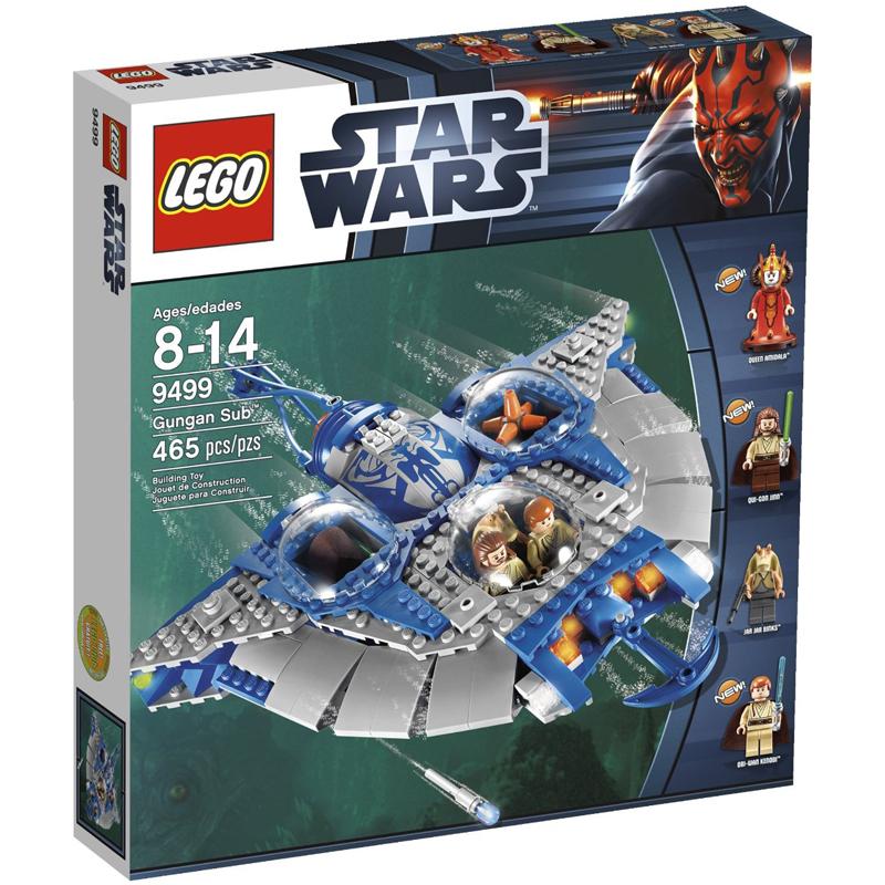 Do choi Lego Star Wars 9499 - Phi thuyen ca duoi