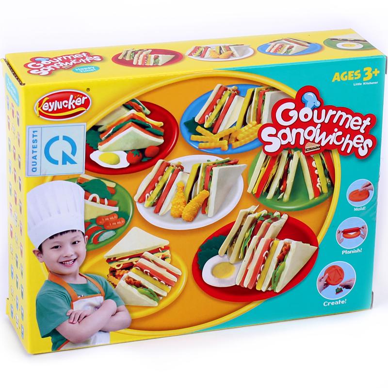 Do choi bot nan cho be - Tho lam banh Sandwich