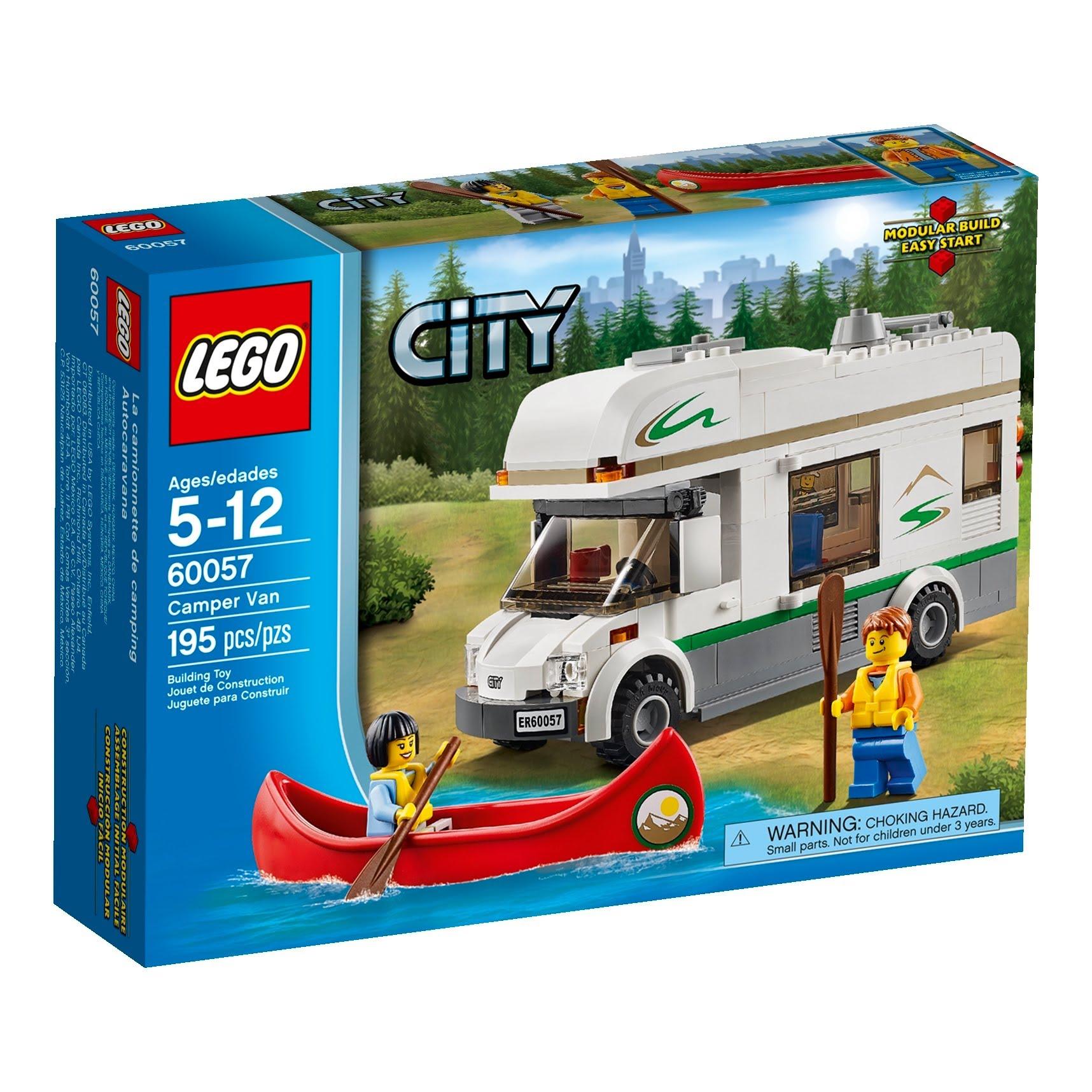 Do choi Lego 60057- Xe cam trai