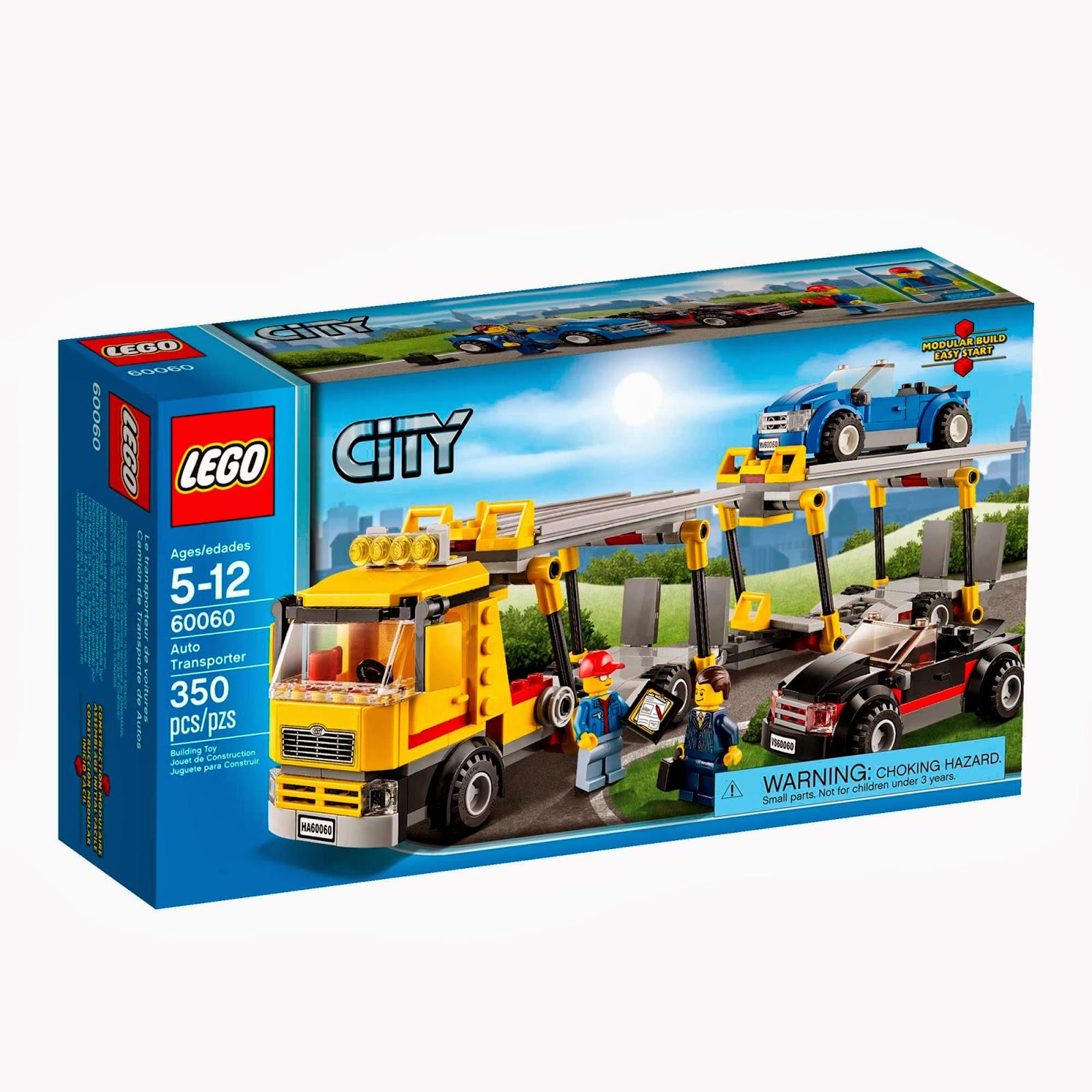 Do choi Lego 60060 - Nguoi van chuyen