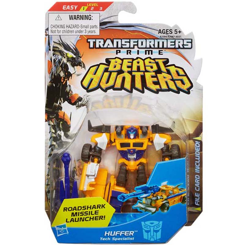 Do choi Transformer - Robot bien hinh Huffer Commander