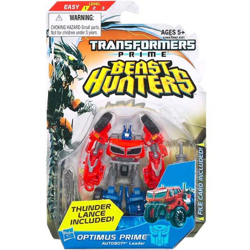 Do choi Transformer - Robot bien hinh Optimus Prime Commander mau do