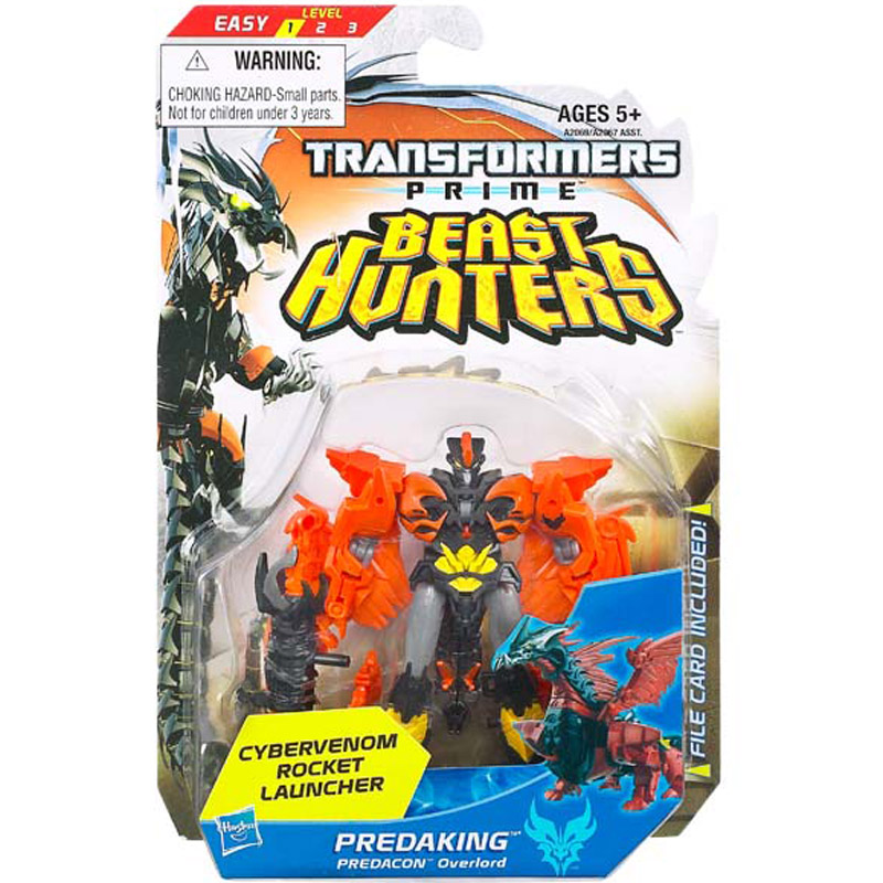 Do choi Transformer - Robot bien hinh Predaking Commander