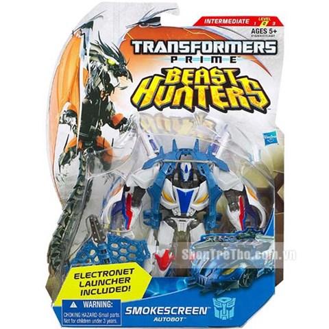 Do choi Transformer - Robot bien hinh Smokescreen Deluxe