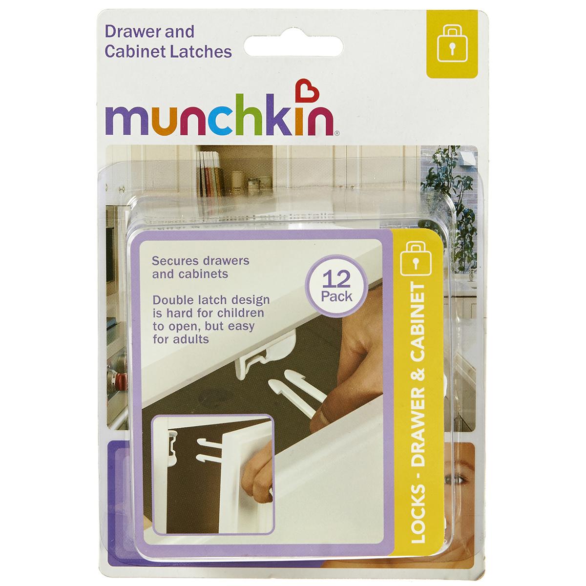 Khoa an toan ngan keo Munchkin 35026 (12 chiec)