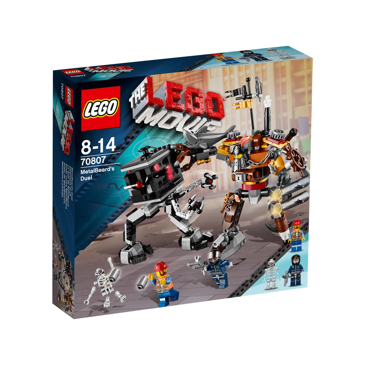 Do choi Lego 70807 - Tran chien Robot