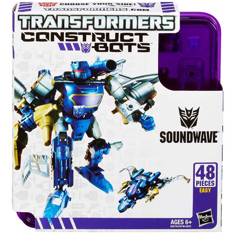 Do choi Transformer - Robot bien hinh Soundwave Elite