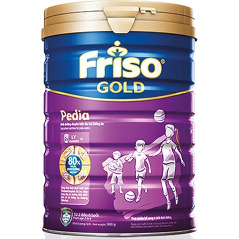Sua Friso Gold Pedia 900g danh cho be tu 2 tuoi tro len
