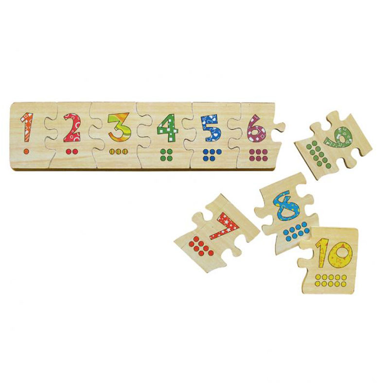 WinWinToys 63392 - Puzzle ghep so