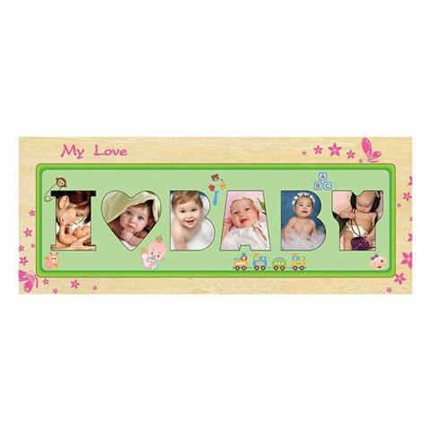 Winwintoys 63812 - Khung hinh I Love Baby