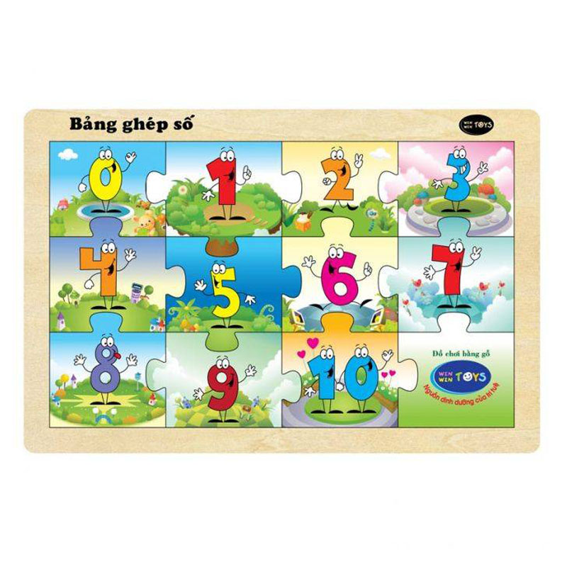 Winwintoys 66312 – Bang ghep so