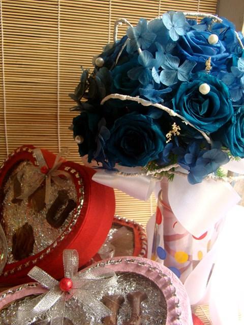 Hoa bat tu - Bo hoa hong xanh