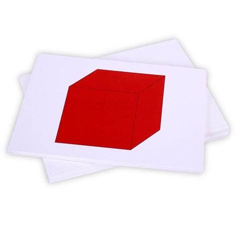 Flash Card chu de hinh khoi