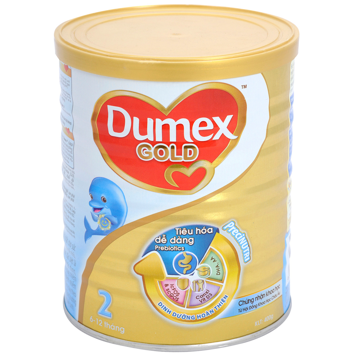 Sua bot Dumex Gold 2 400g