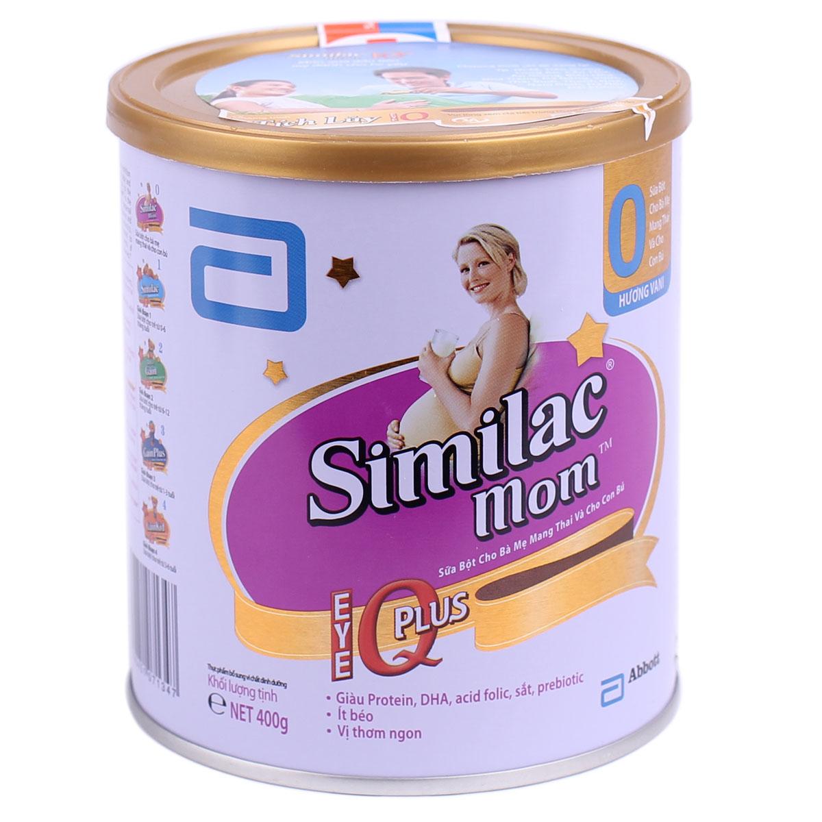Kết quả hình ảnh cho Sữa Similac Mom
