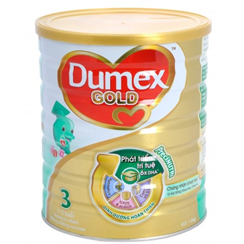Sua bot Dumex Gold so 3 1,5 kg