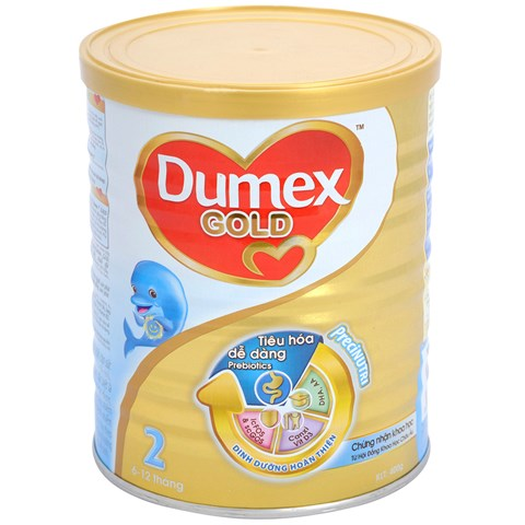 Sua bot Dumex Gold so 2 800g