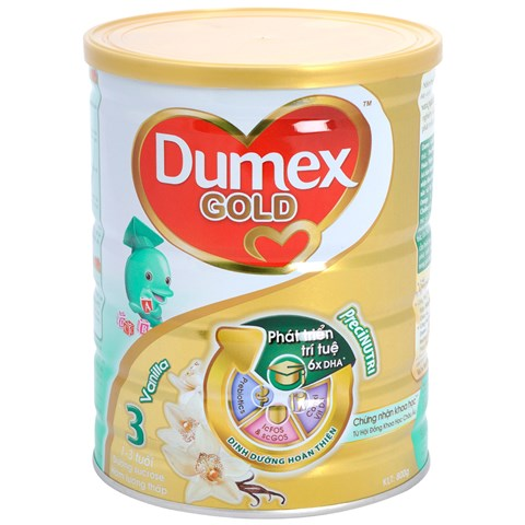 Sua bot Dumex Gold so 3 800g