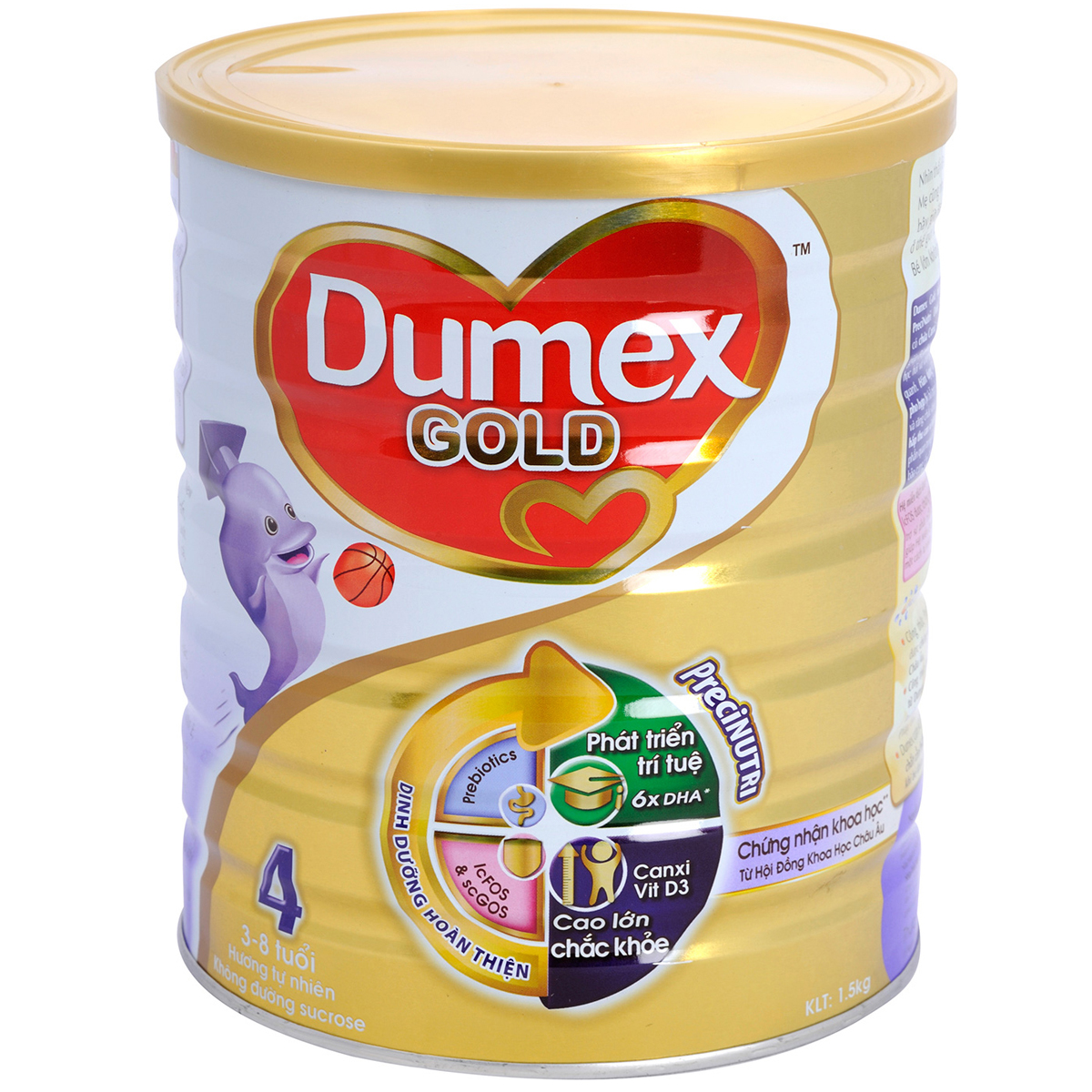 Sua bot Dumex Gold so 4 1,5 kg