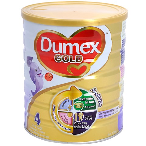 Sua bot Dumex Gold so 4 1,5 kg