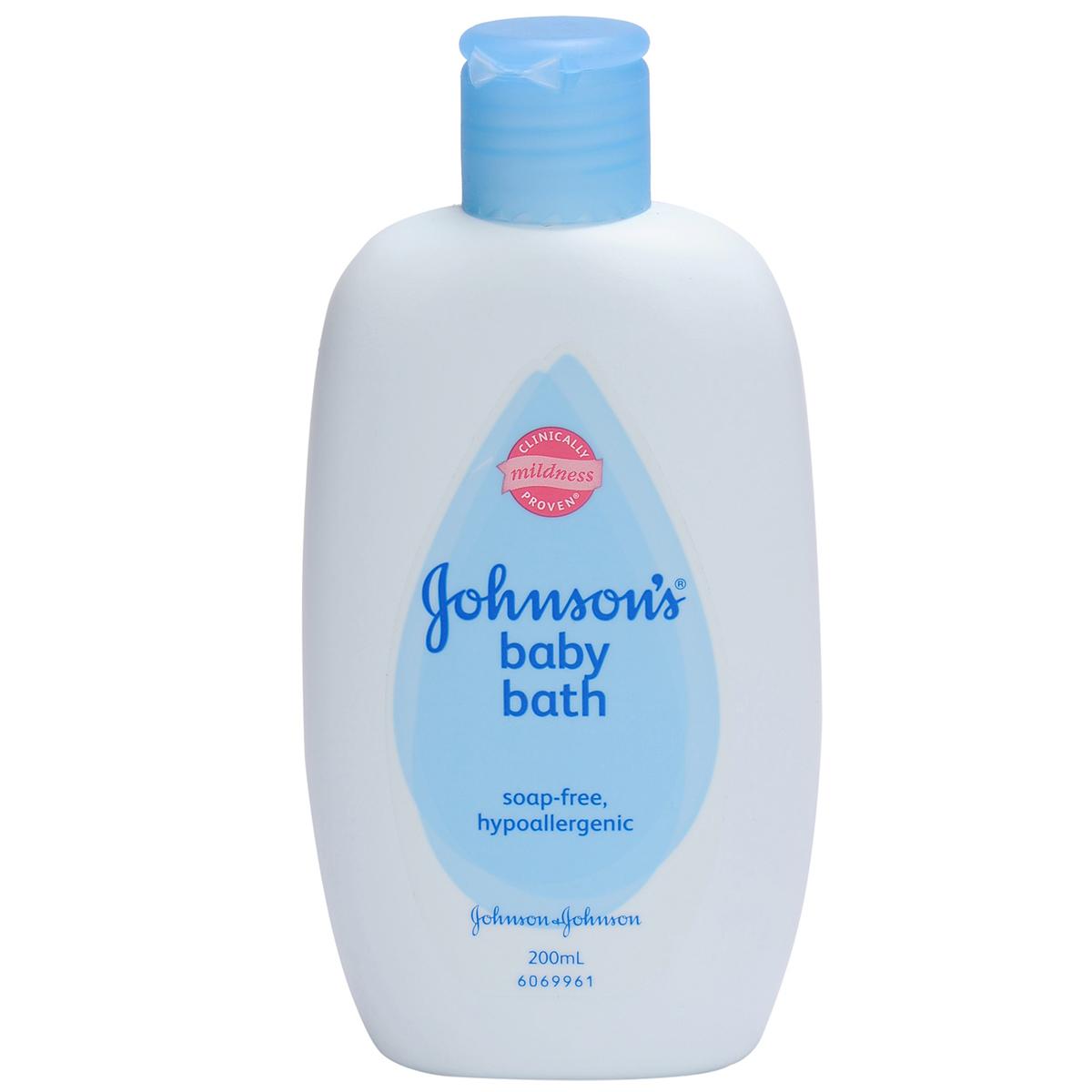 Sua tam Johnson baby chua sua 200ml