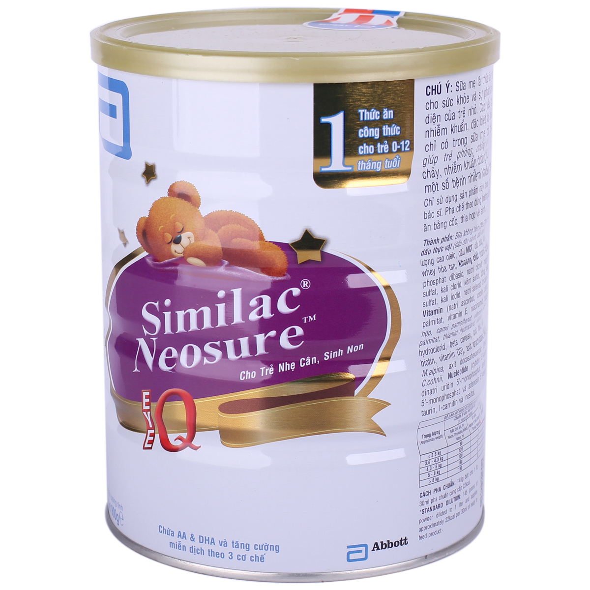 Sua Similac Neosure so 1 - 900g