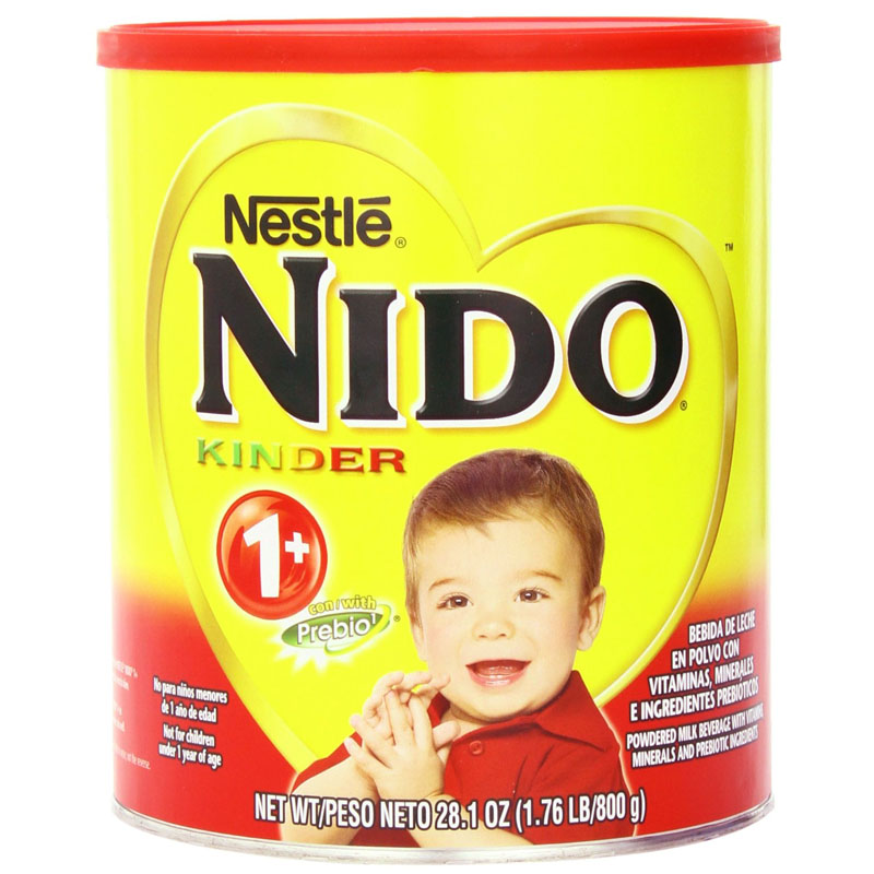 Sua bot Nido Kinder 1+ nap do 800g