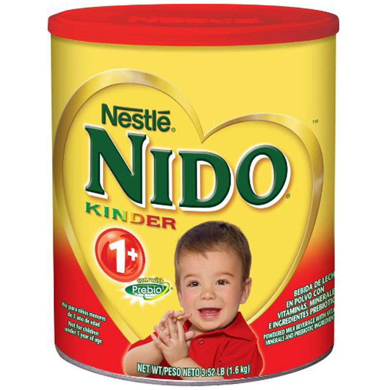 Sua tuoi dang bot Nido Kinder 1+ nap do 1,6kg