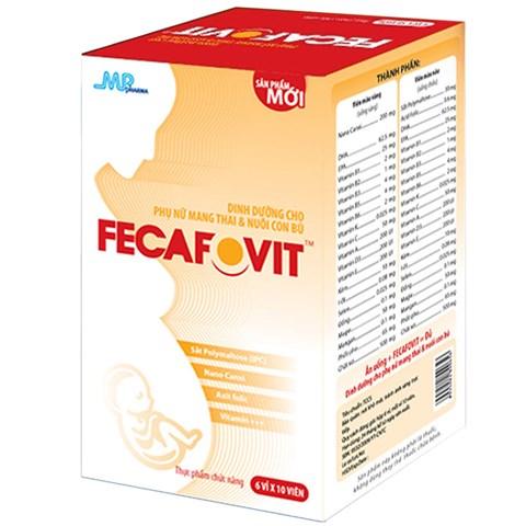 Fecafovit - Vien bo tong hop cho ba bau