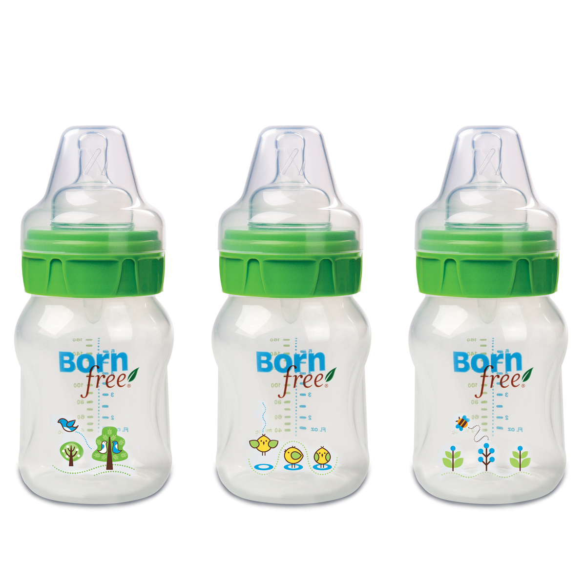 Bo 3 binh Born Free PP 160ml
