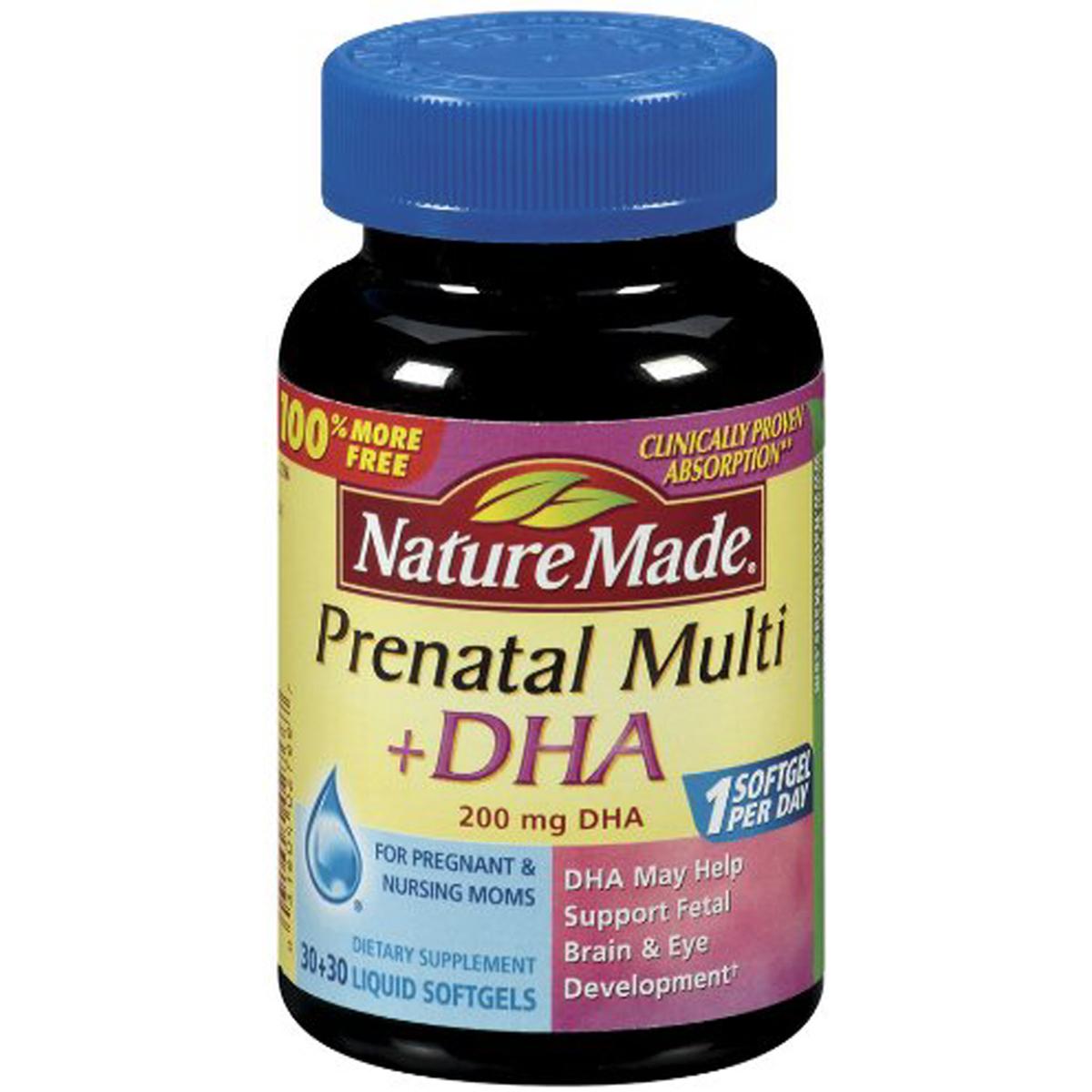 Vitamin cho ba bau Prenatal DHA