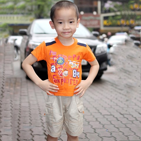 Bo quan ao coc cho be trai Thai Lan My Kids 102452