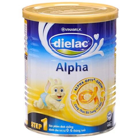 Sua bot Dielac Alpha so 1 hop thiec 400g