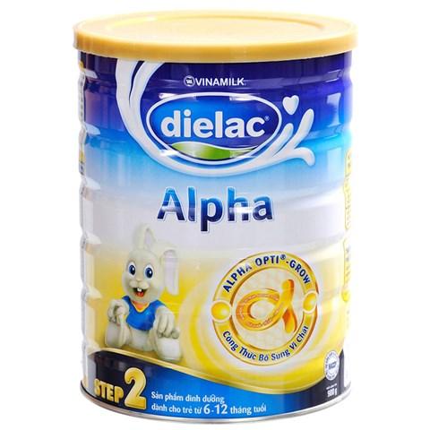 Sua bot Dielac Alpha so 2 hop thiec 900g