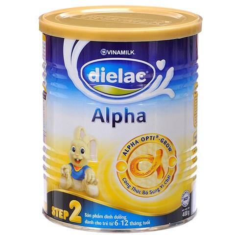 Sua bot Dielac Alpha so 2 hop thiec 400g