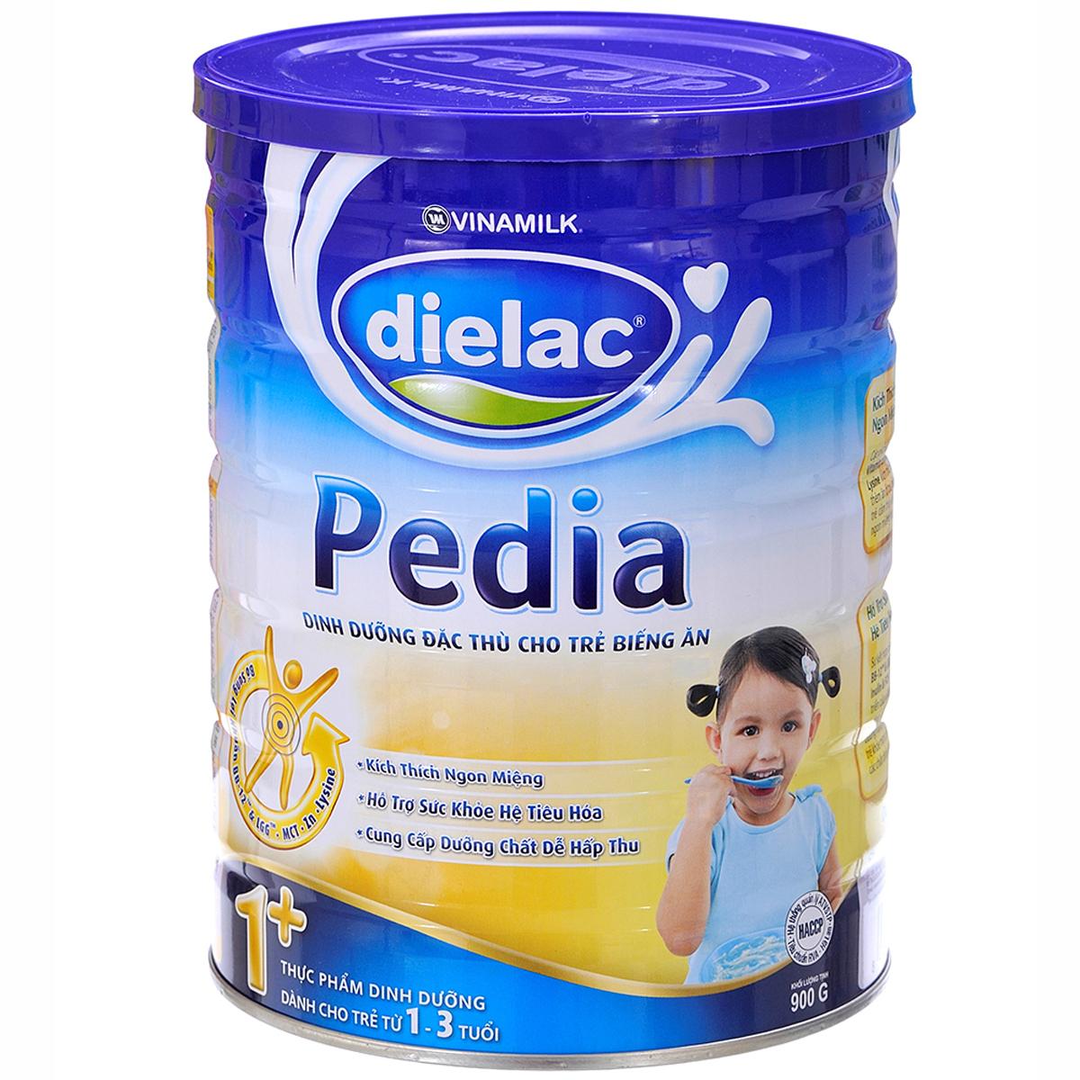 Sua bot Dielac Pedia 1+ hop thiec 900g
