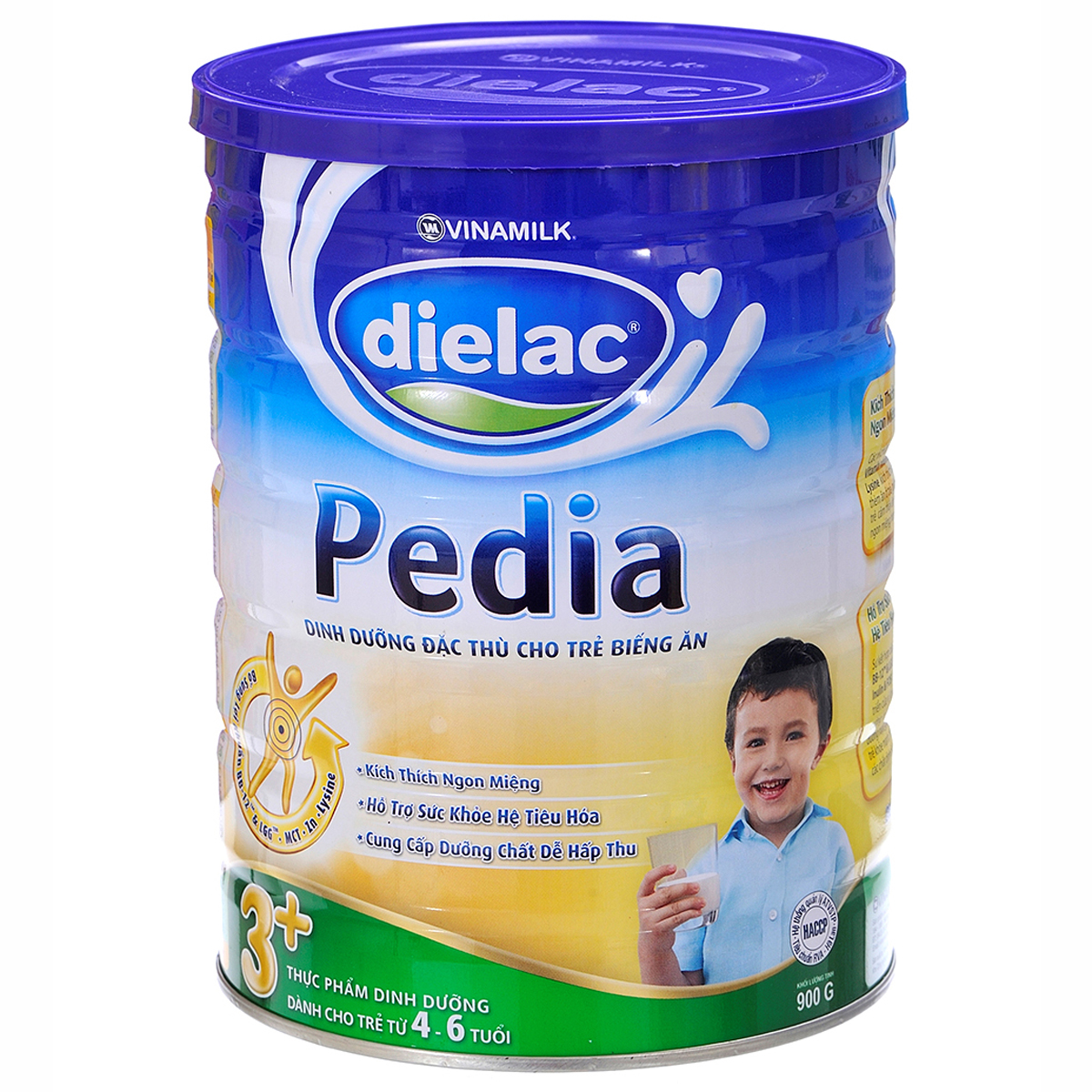 Sua bot Dielac Pedia 3+ hop thiec 900g
