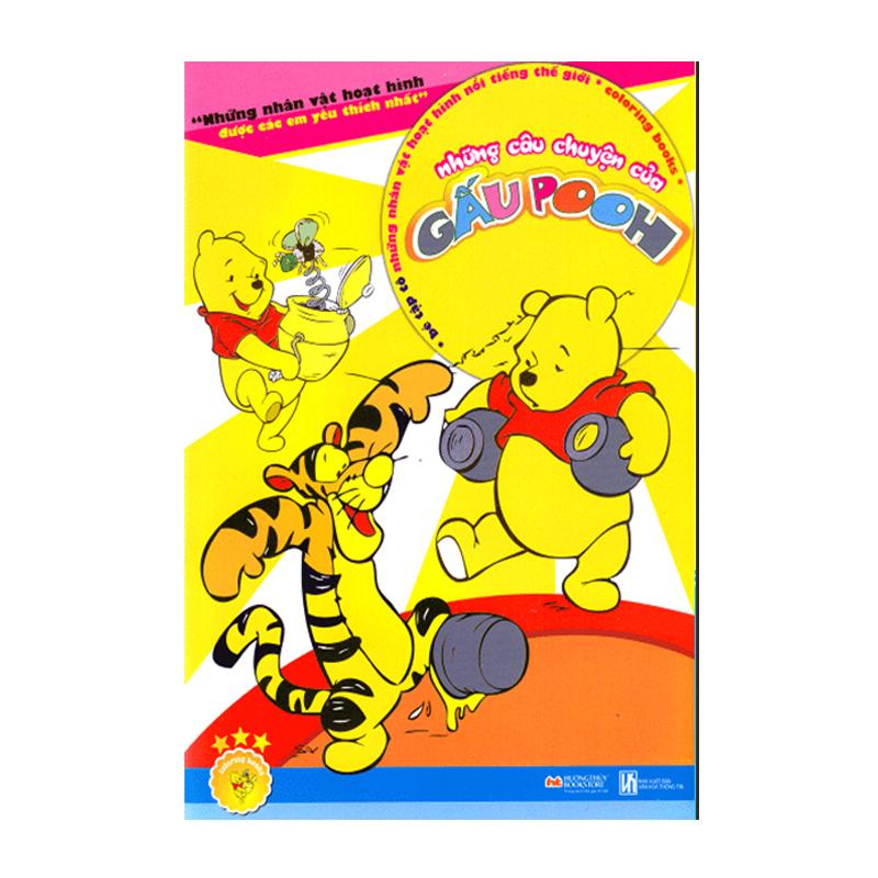 Be to mau nhung cau chuyen cua gau Pooh