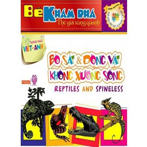 Be kham pha the gioi xung quanh - Bo sat & Dong vat khong xuong song