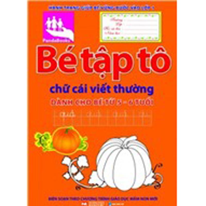 Be tap to chu cai viet thuong