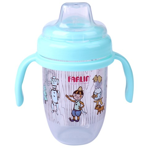 Coc tap uong dau mut silicone Farlin-AET012B