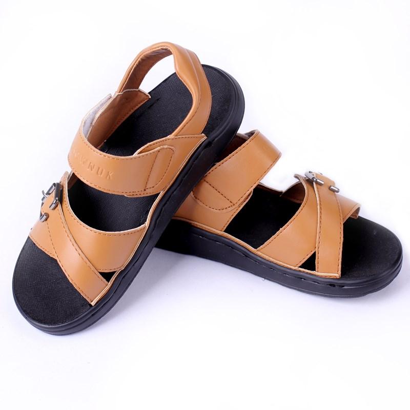 Dep sandal cao cap cho be trai Crown GD-326