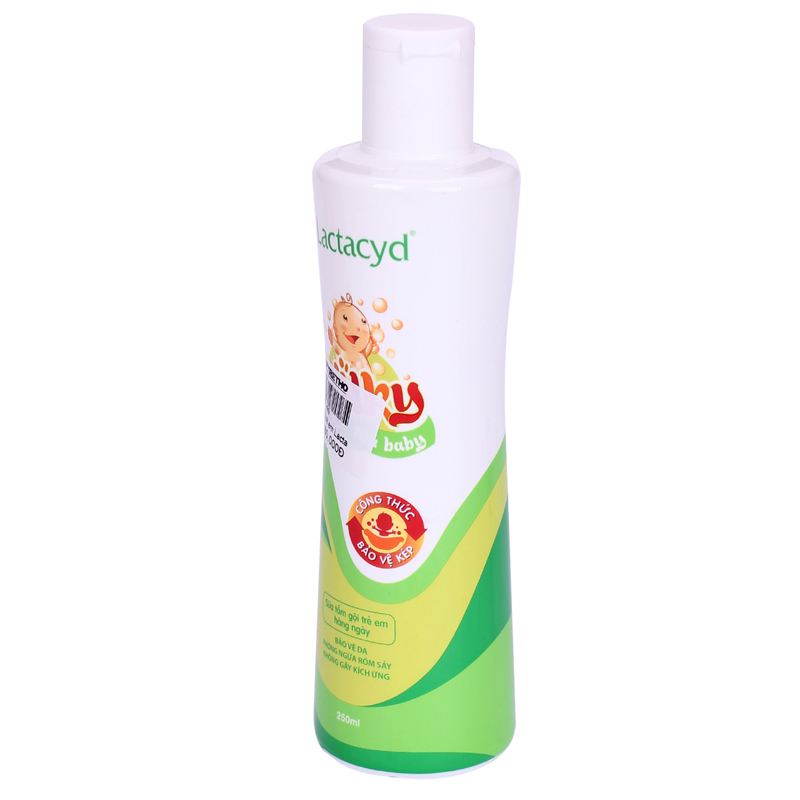 Sua tam goi cho be Lactacyd Milky 250ml