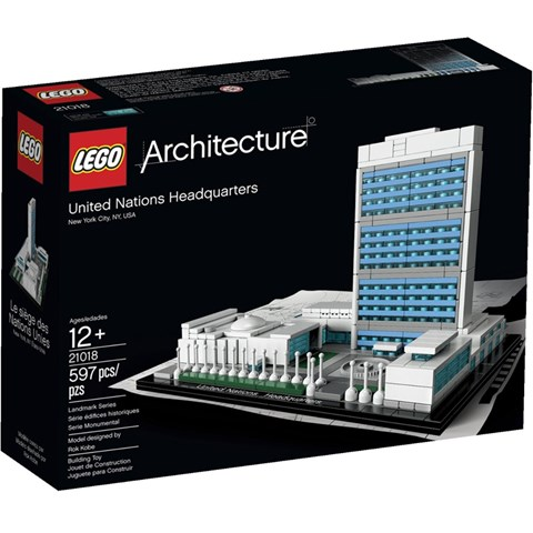 Lego 21018 - Tru so chinh cua Lien Hop Quoc V29